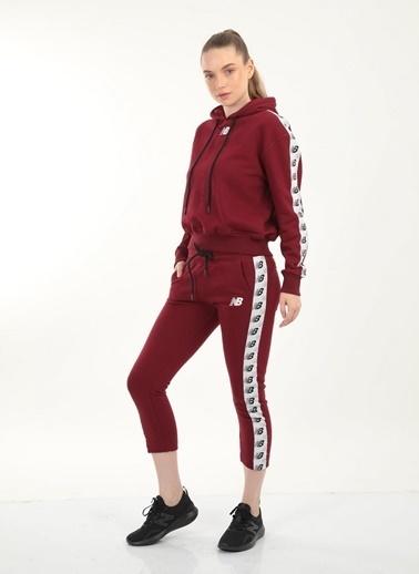 New Balance New Balance Team Jacket Kadın Sweat WPJ005-BKR WPJ005-BKR034 Kırmızı